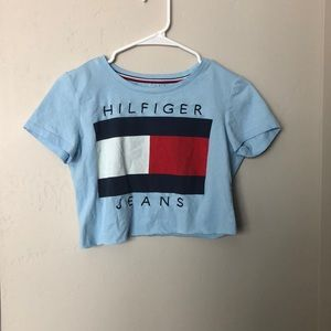BUNDLE of Cropped Tommy Hilfiger Shirt